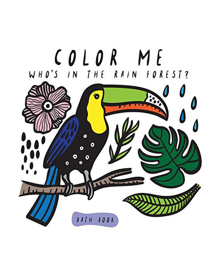 Little hachette book group play color me: who's in the rain forest?