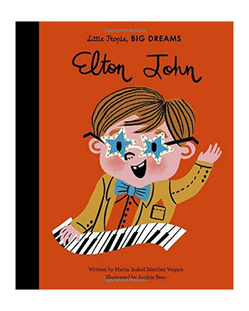 Little hachette book group play little people big dreams: elton john