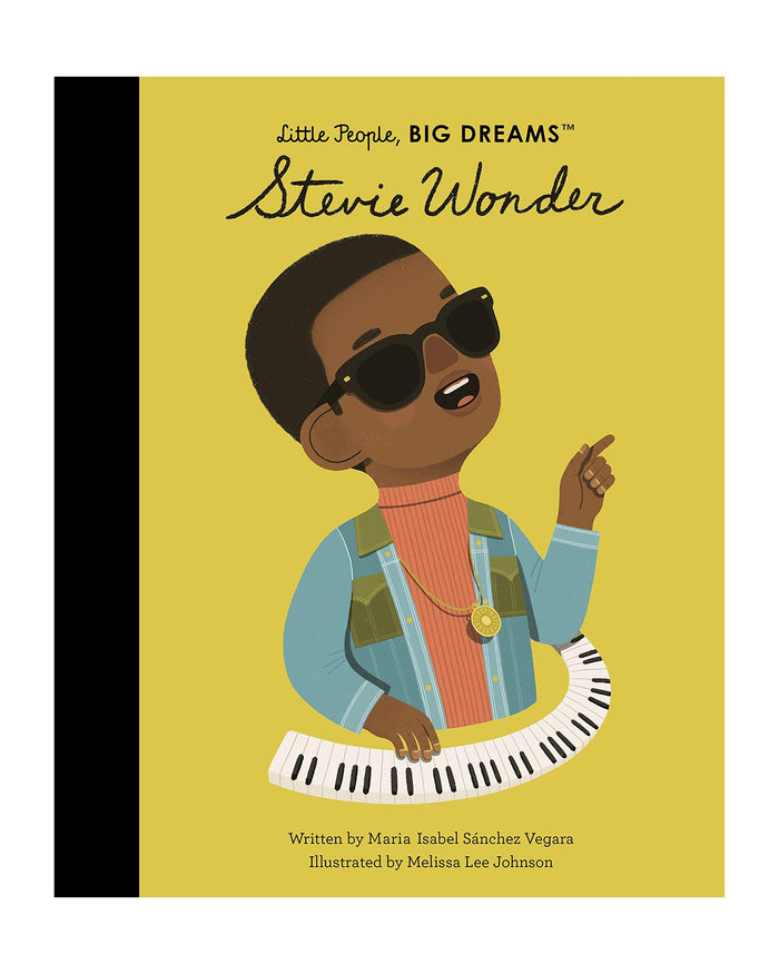 Little hachette book group play little people big dreams: stevie wonder