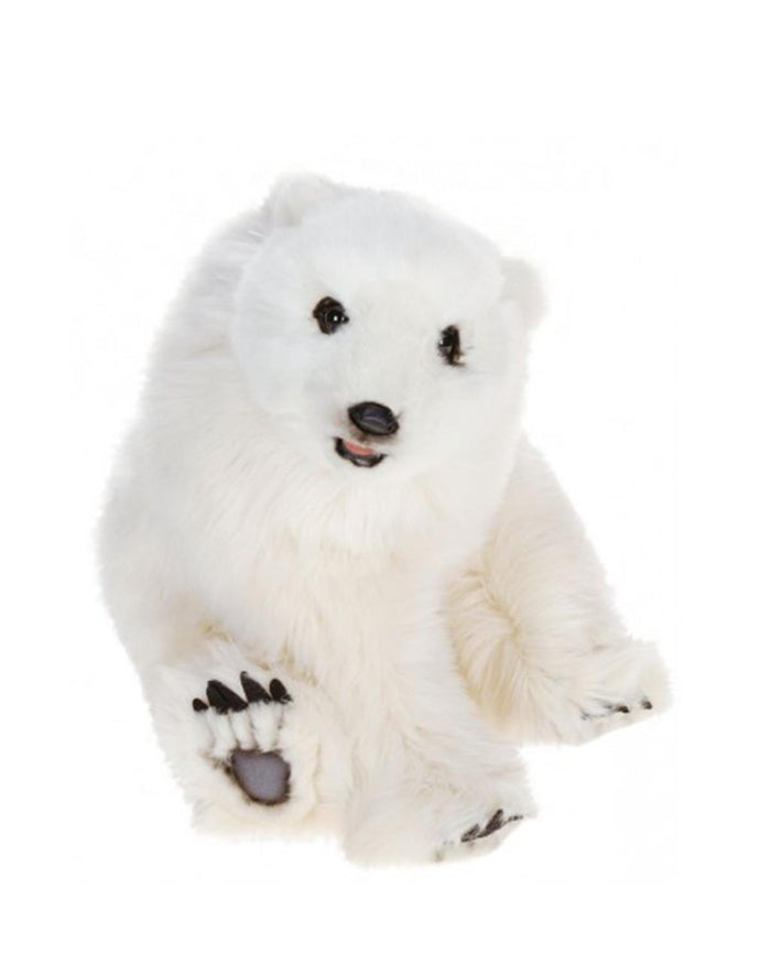 Little hansa toys play Seated Polar Bear Cub