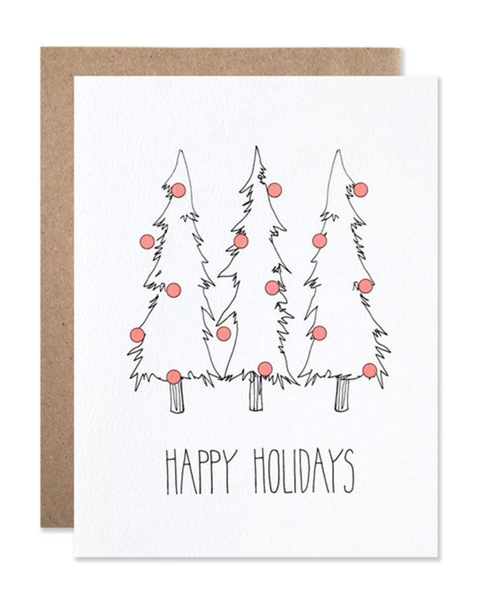 Little hartland brooklyn paper+party Dot Trees Card Pack