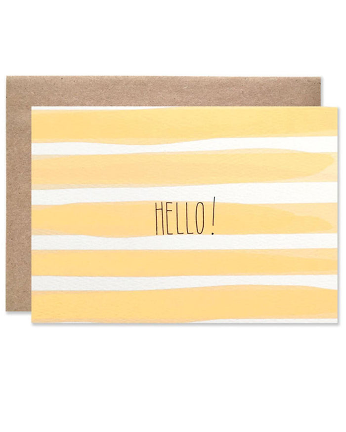 Little hartland brooklyn paper+party Hello! Card
