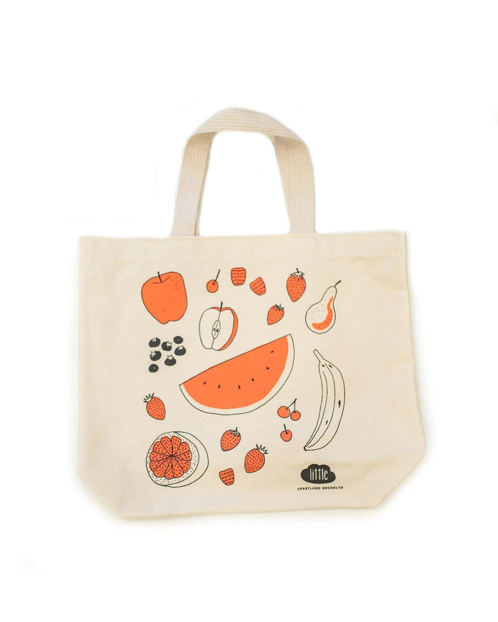 little + hartland brooklyn fruit tote