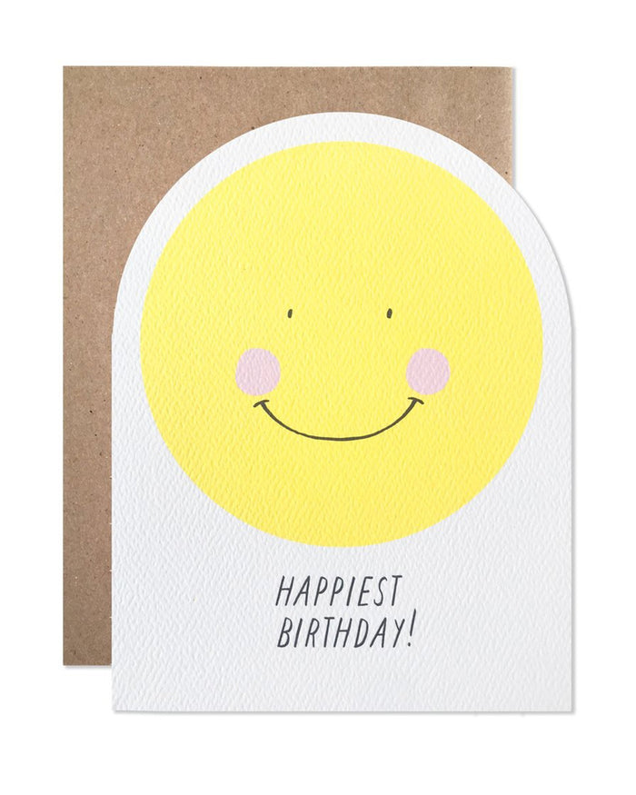 Little hartland brooklyn paper+party smiley happiest birthday card