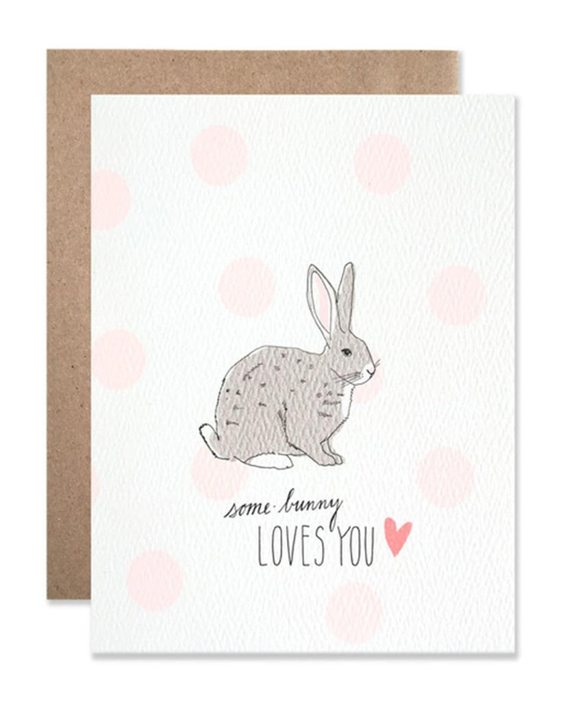 Little hartland brooklyn paper+party Some Bunny Card