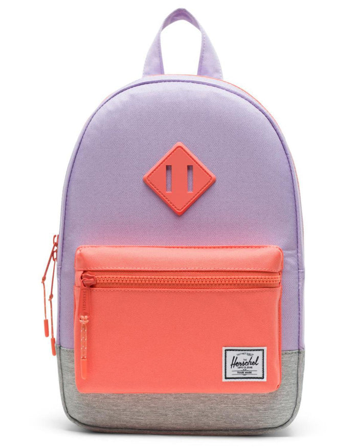 Little herschel supply co accessories kids heritage backpack in lavendula crosshatch