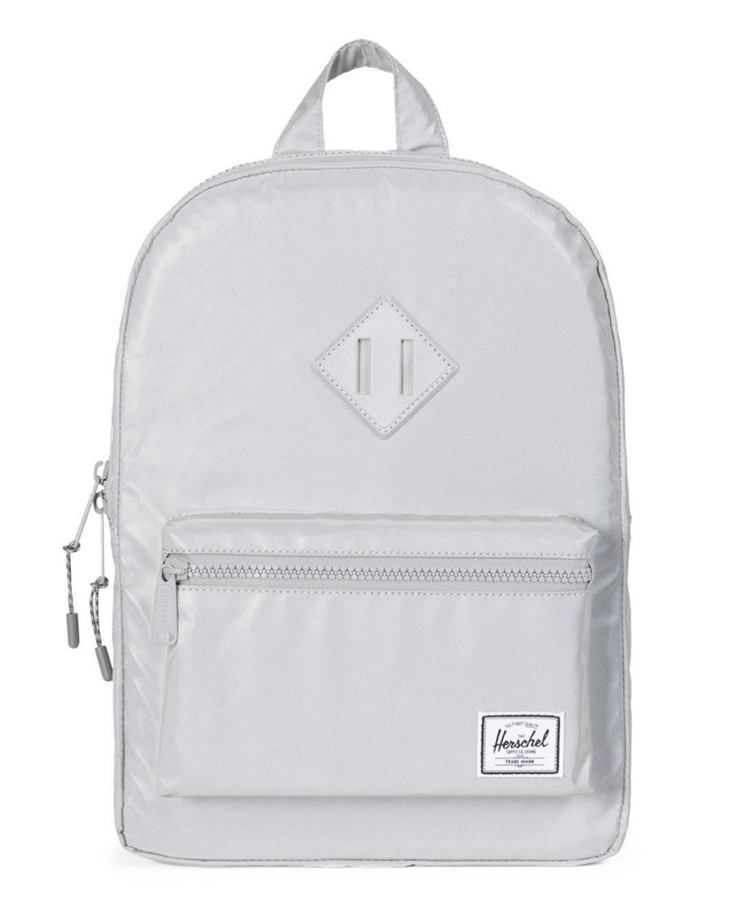 Little herschel supply co accessories Kids Heritage Backpack in Silver Reflective