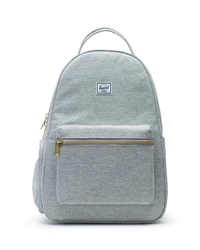 Little herschel supply co accessories nova sprout backpack in light grey crosshatch