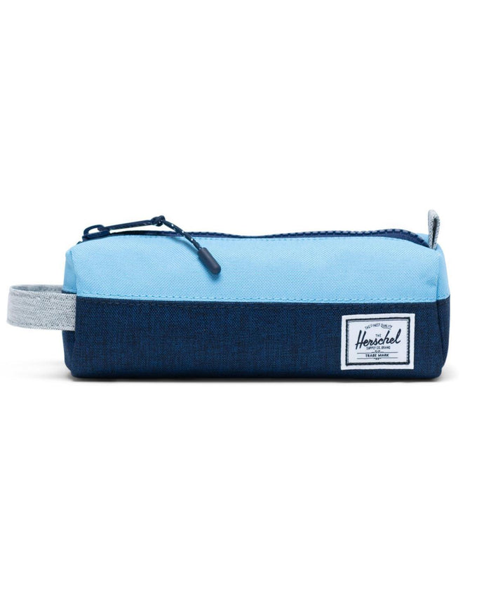 Little herschel supply co accessories settlement case in medieval blue crosshatch