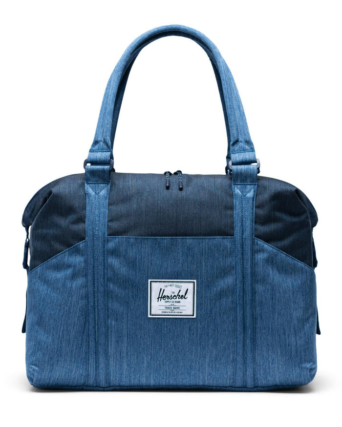 Little herschel supply co accessories strand sprout diaper duffle in faded + indigo