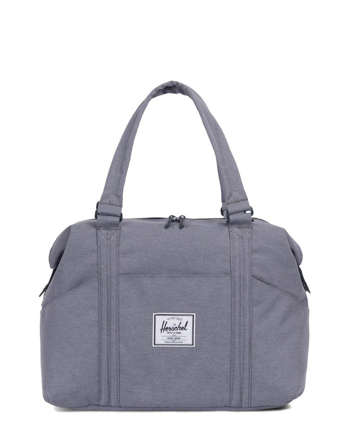 Little herschel supply co accessories strand sprout diaper duffle in grey crosshatch