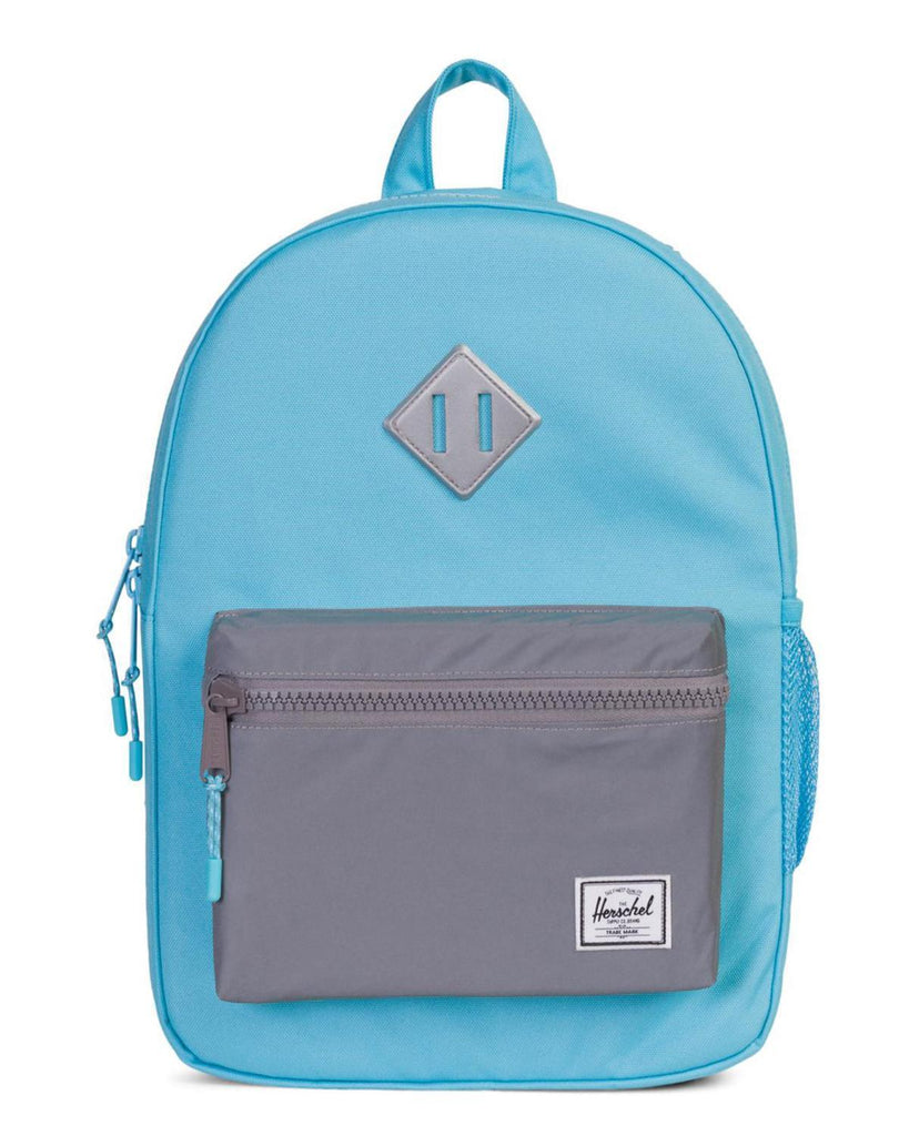 Little herschel supply co accessories youth heritage backpack in button reflective