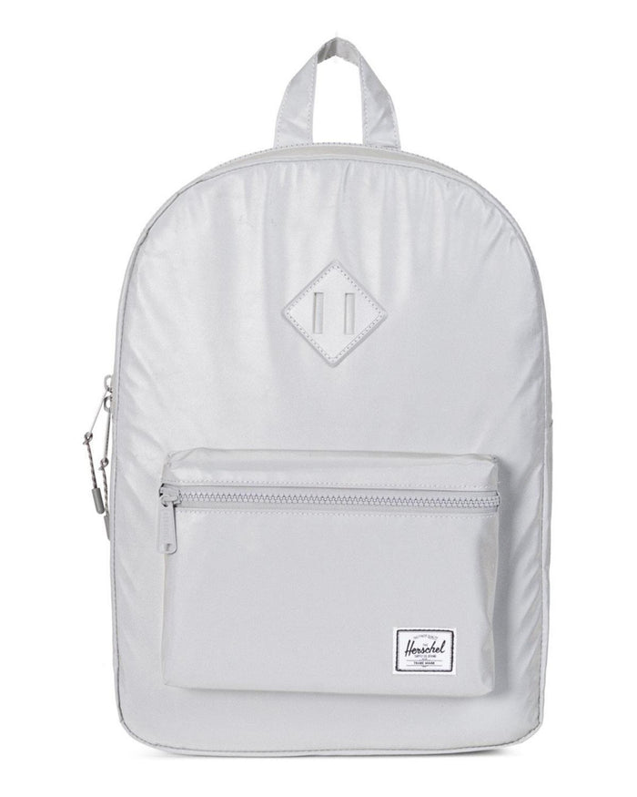 Little herschel supply co accessories Youth Heritage Backpack in Silver Reflective