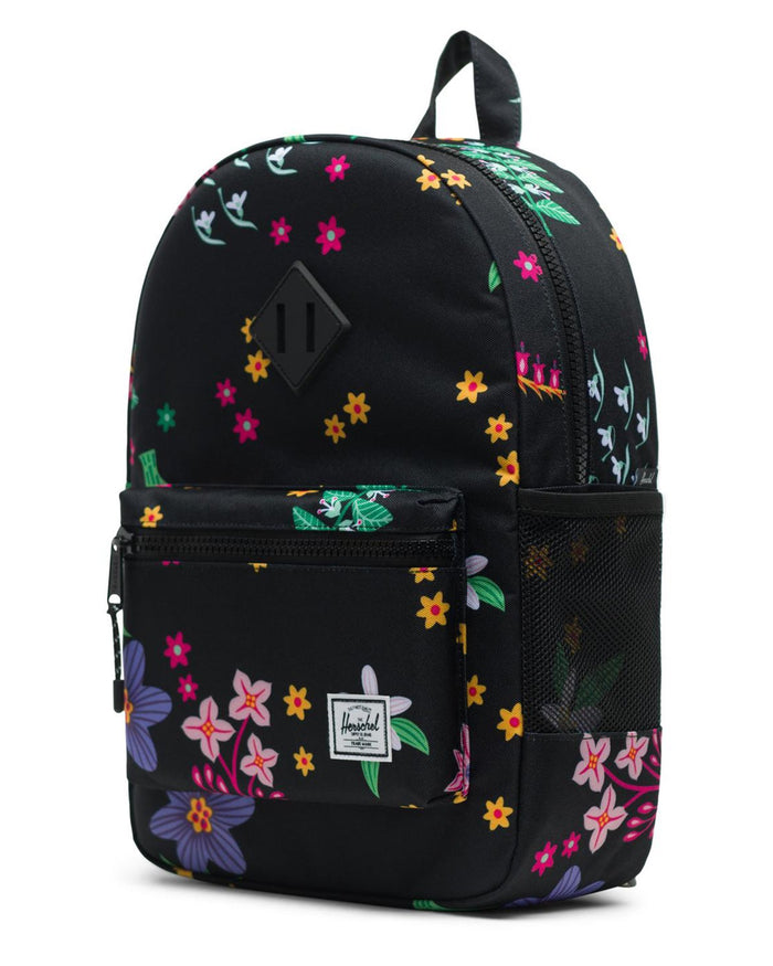 Little herschel supply co accessories youth heritage backpack in sunny floral