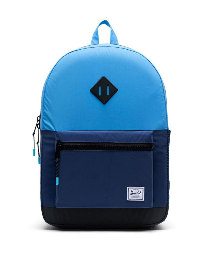 Little herschel supply co accessories youth heritage backpack xl in alaskan blue reflective