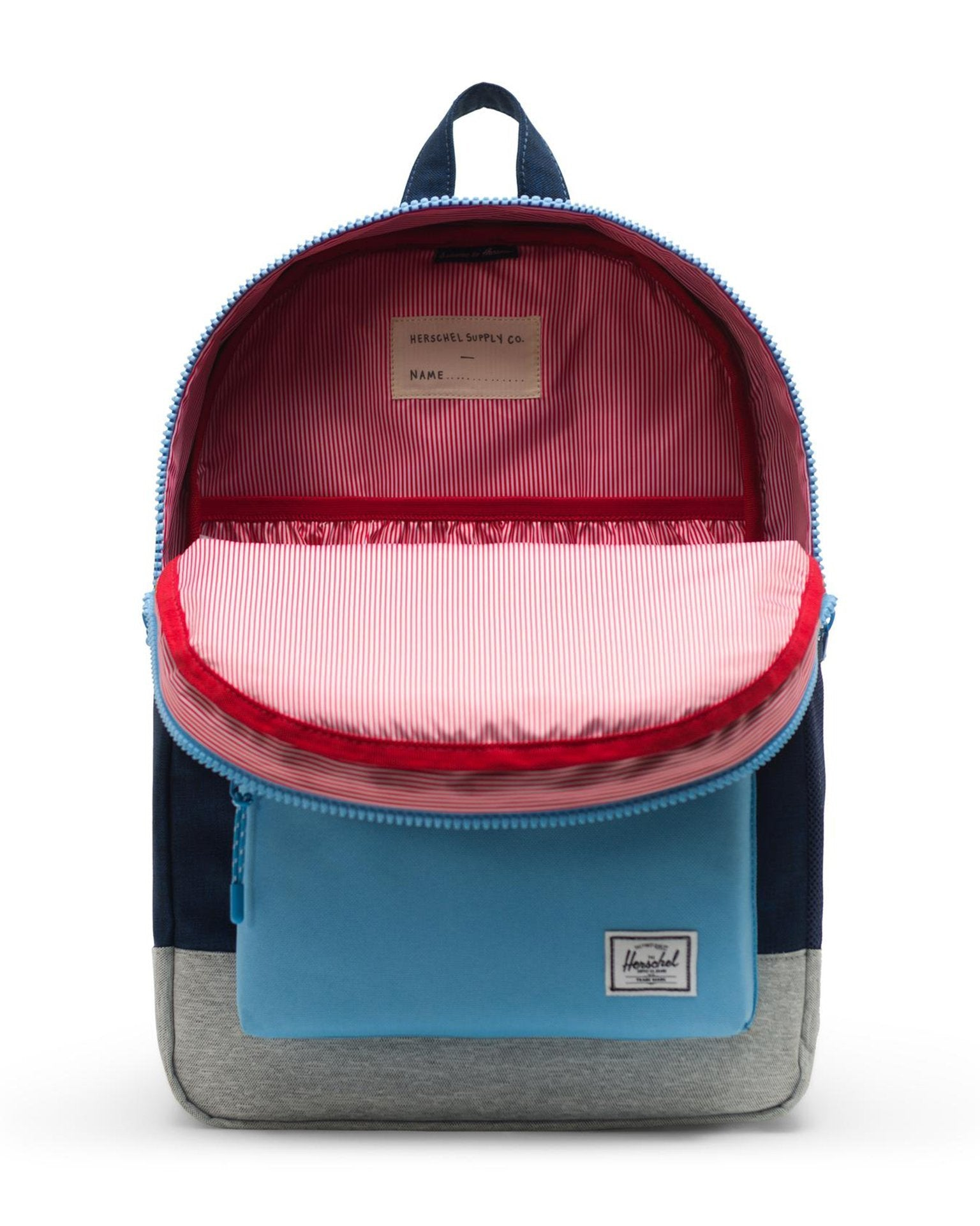 28b3c351b40 ... Little herschel supply co accessories youth heritage backpack xl in medieval  blue crosshatch ...