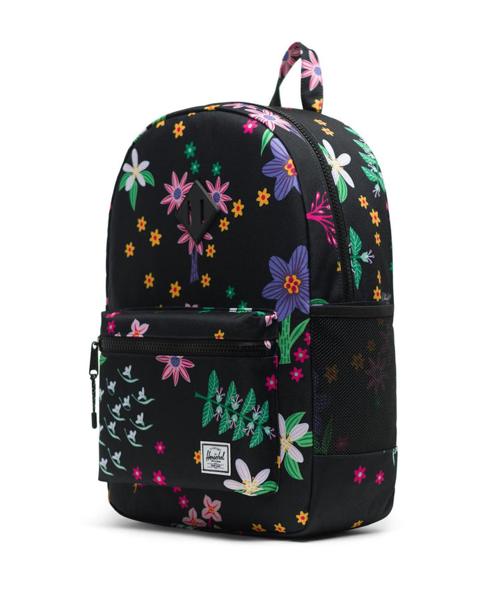 Little herschel supply co accessories youth heritage backpack xl in sunny floral