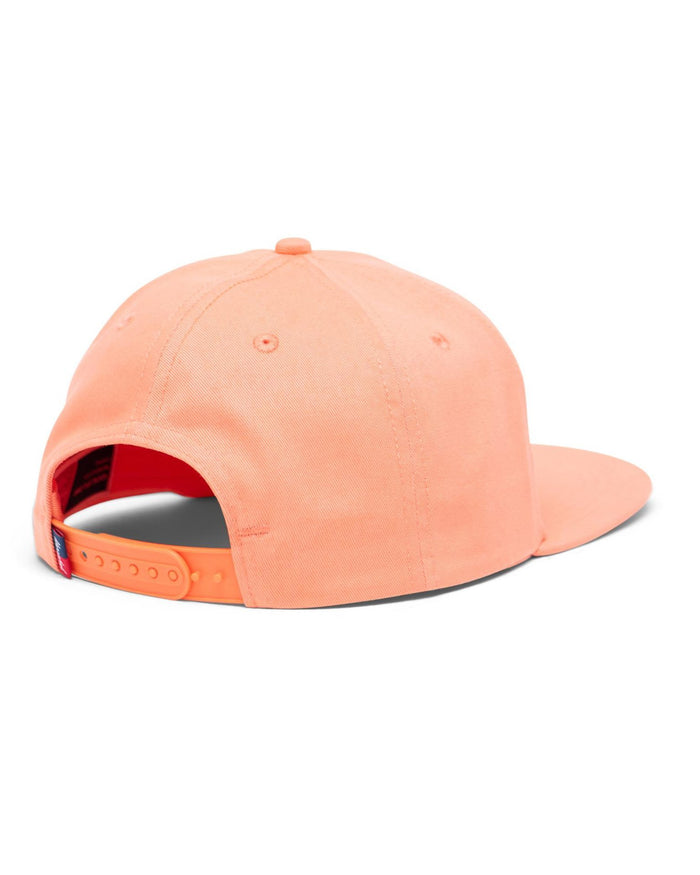Little herschel supply co accessories youth whaler cotton twill cap in fresh salmon