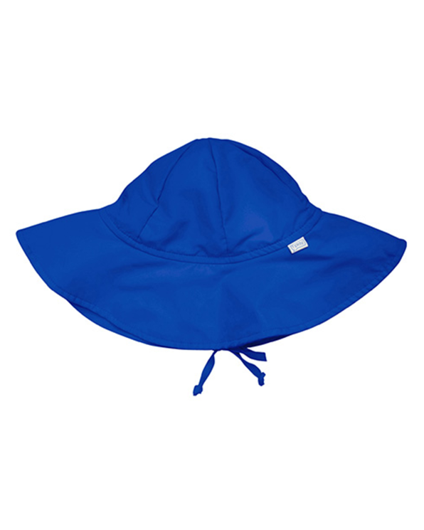 Solid Brim Sun Protection Hat in Royal Blue