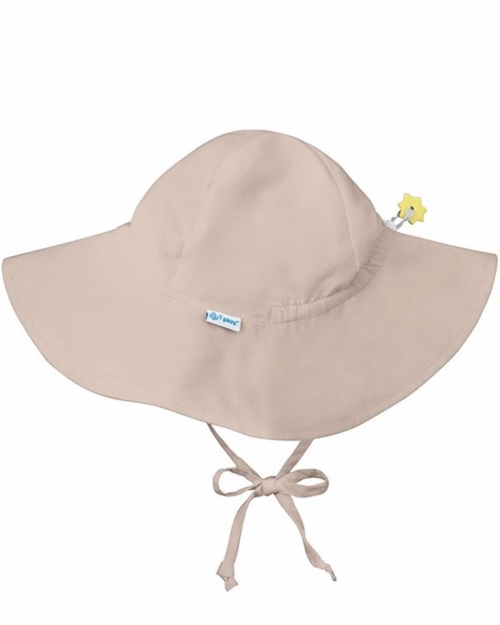 Little i play baby boy 0-6 Sun Hat in Khaki
