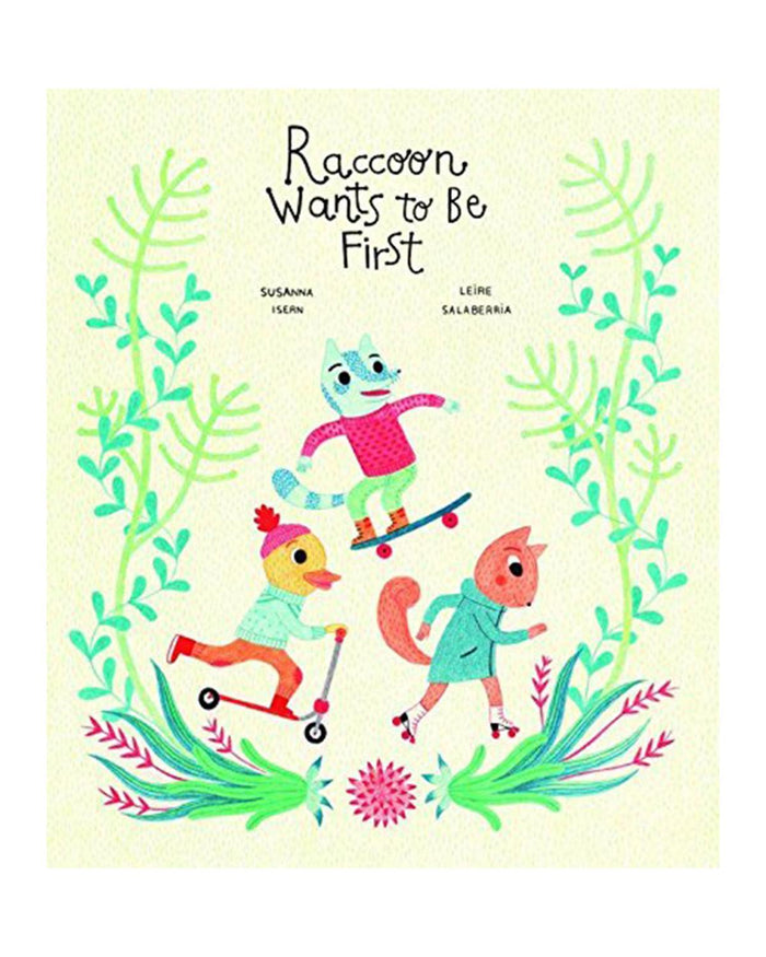 Little ingram books play Raccoon Wants To Be First
