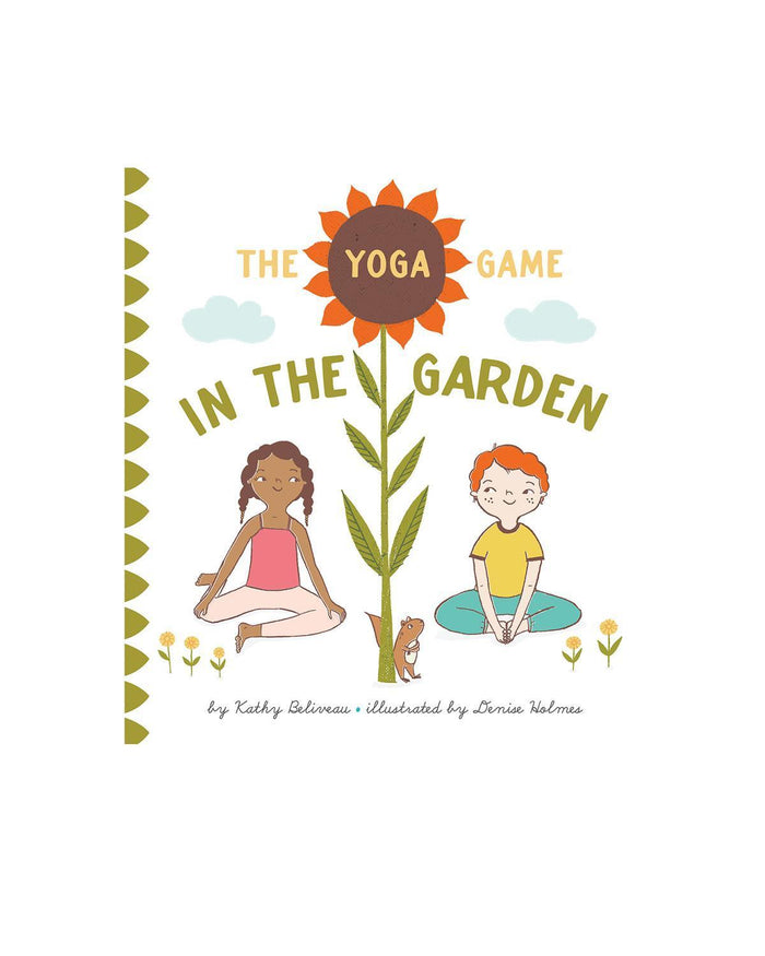 Little ingram books play The Yoga Game in the Garden
