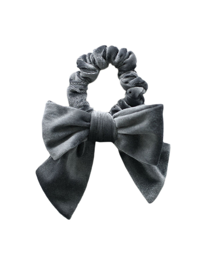 Little jamie kay accessories aela velvet hair tie in dusky