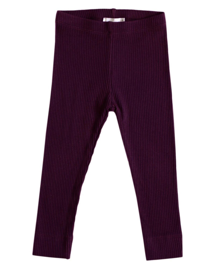 cotton modal legging in mulberry