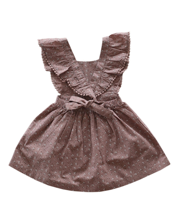 Little jamie kay girl 1 dress in rosy floral