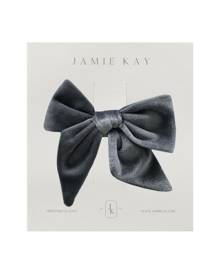 Little jamie kay accessories harper velvet bow in dusky