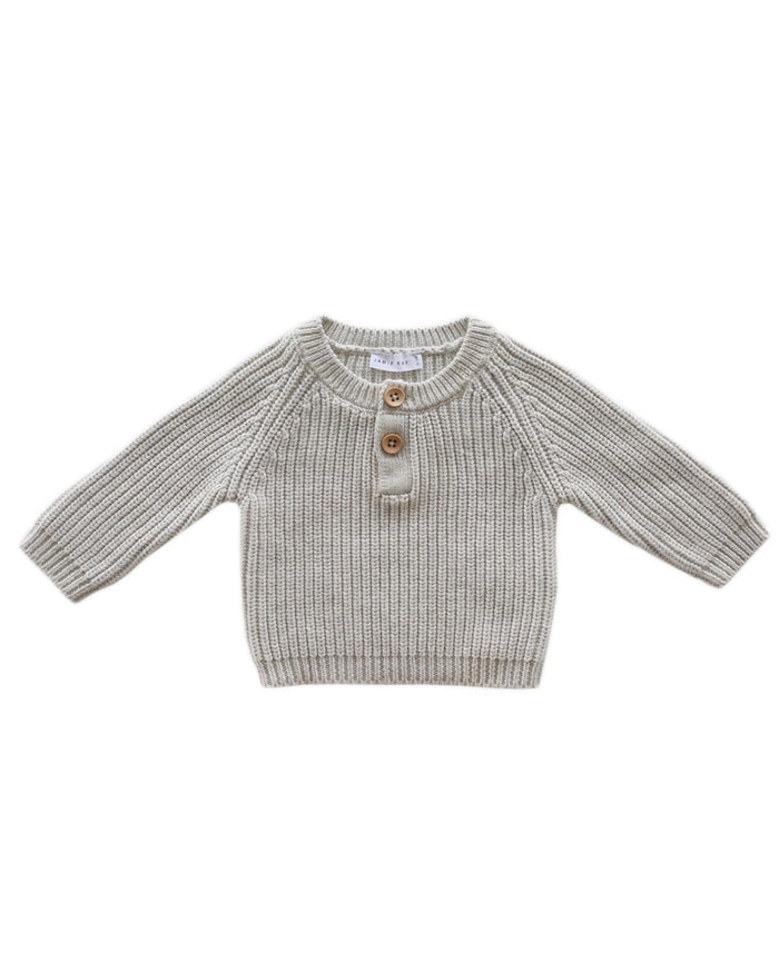 Little jamie kay boy 1y leo knit in oatmeal