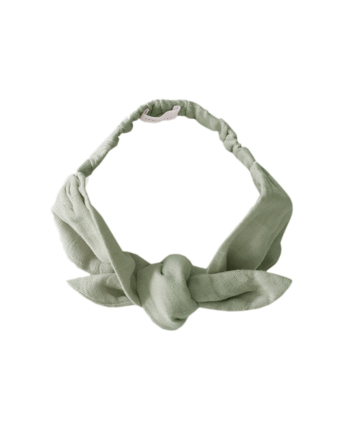Little jamie kay accessories muslin headband in desert sage