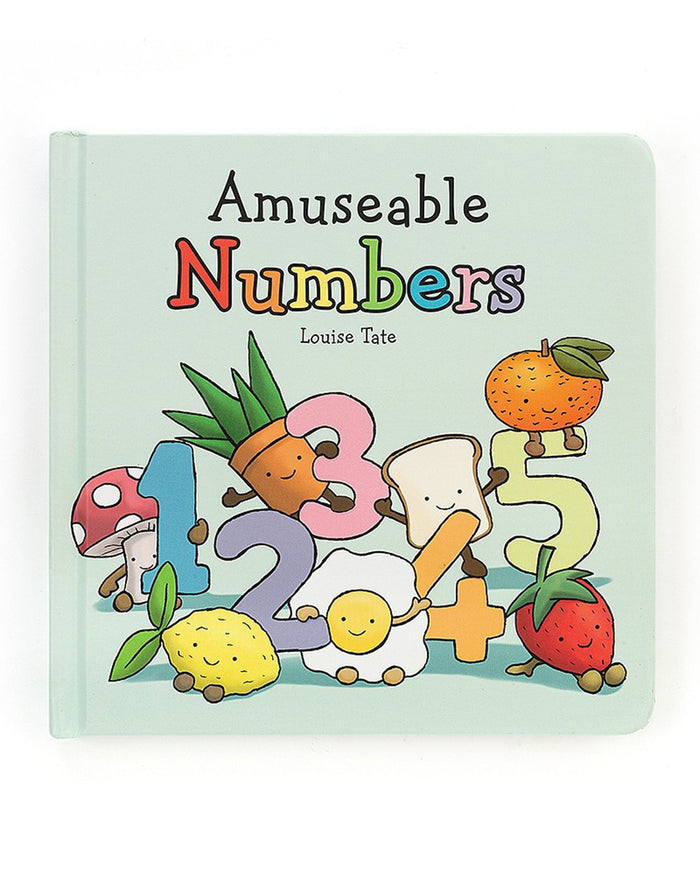 Little jellycat play amuseable numbers book