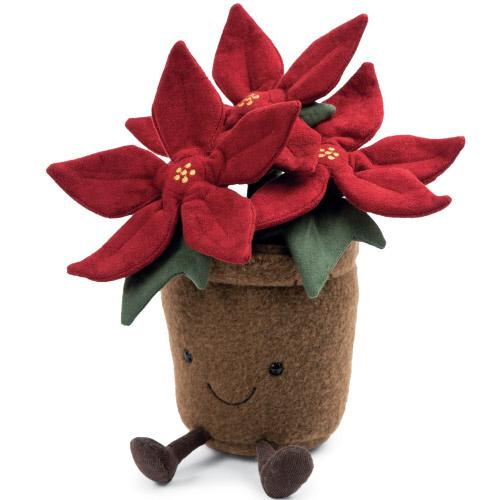 Little jellycat play amuseables poinsettia