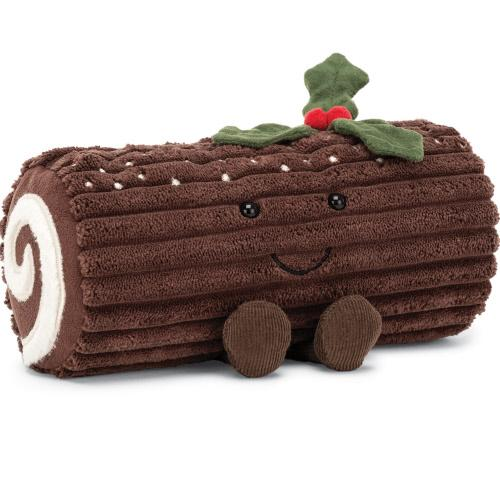Little jellycat play amuseables yule log