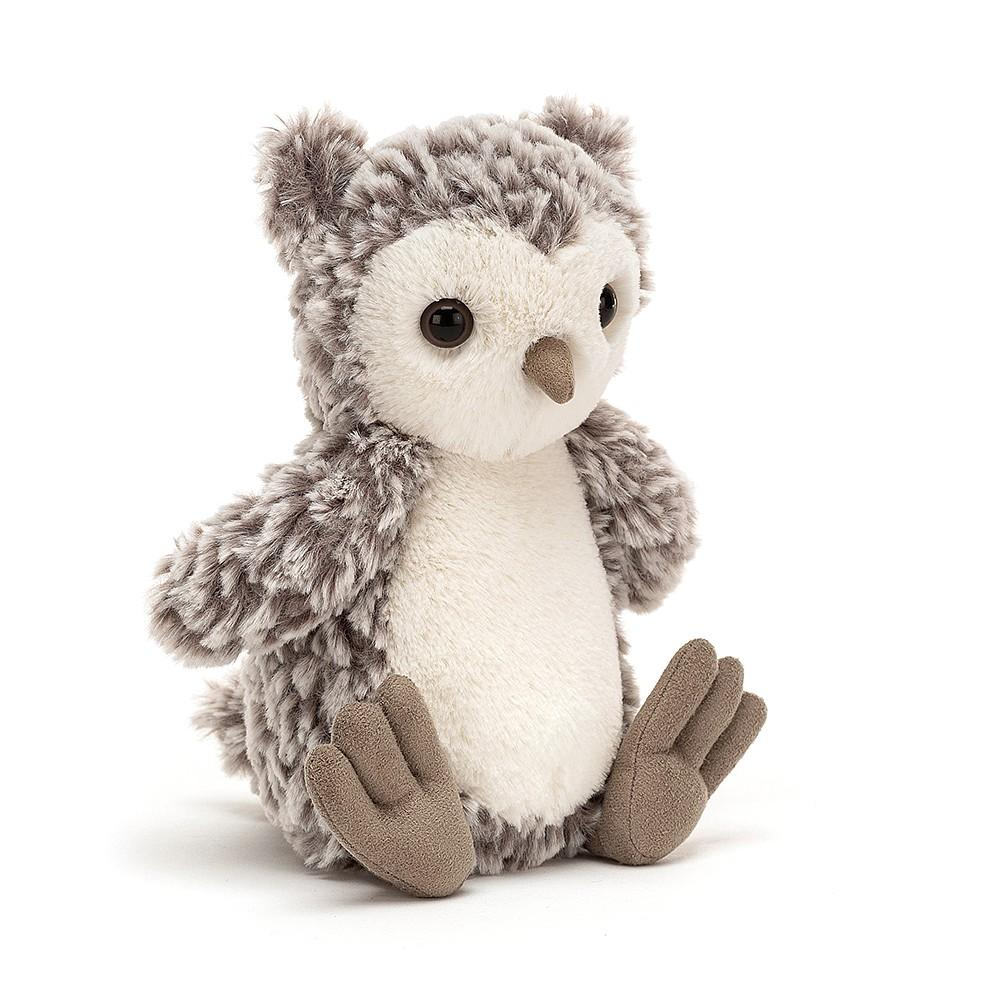 Little jellycat play barney owl chick