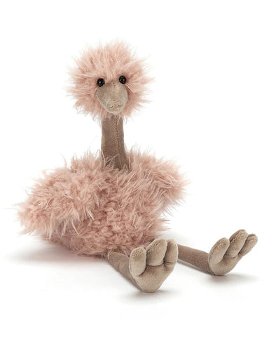 Little jellycat play bonbon ostrich