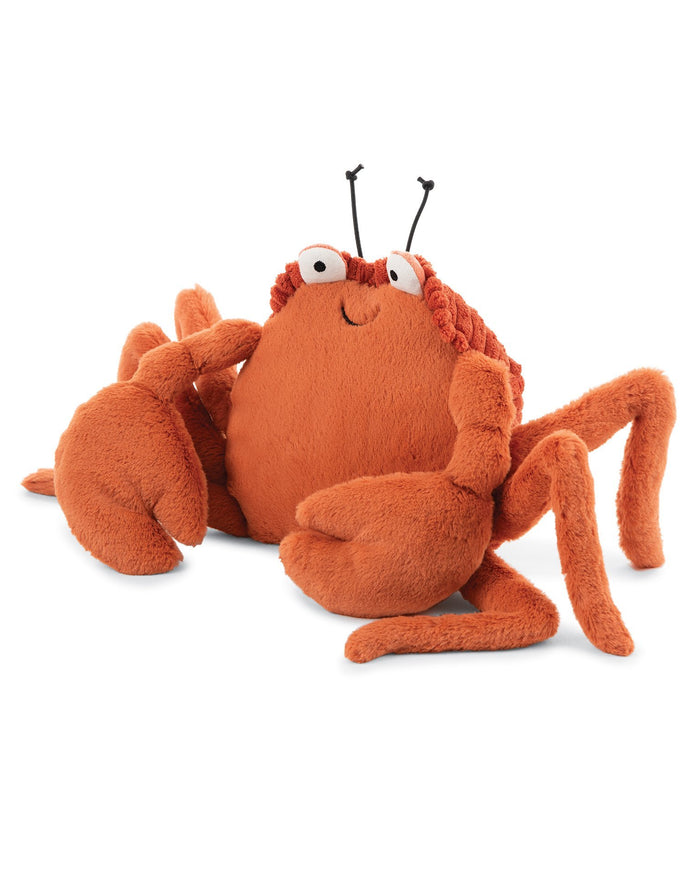 Little jellycat play crispin crab