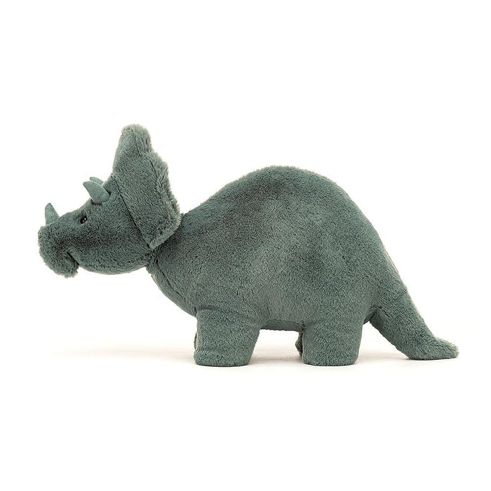 Little jellycat play fossilly triceratops