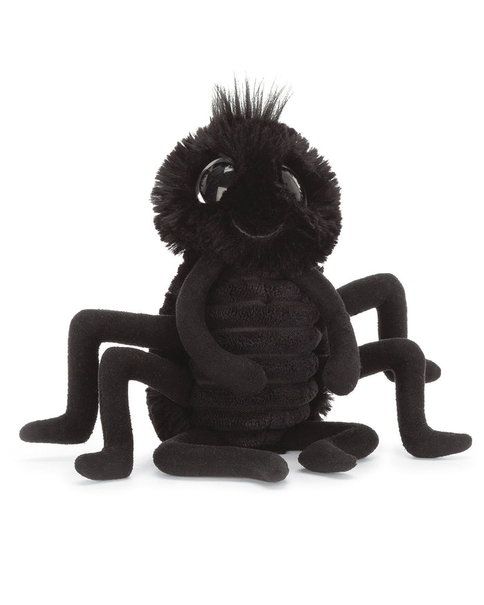 Little jellycat play frizzles spider