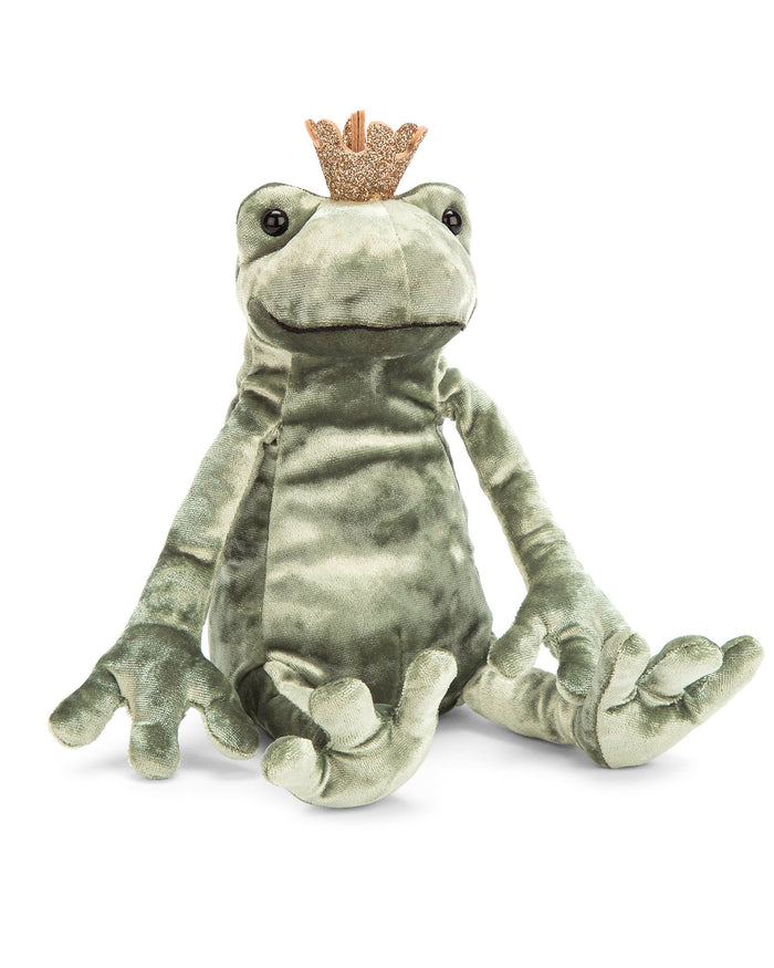 Little jellycat play frog prince kiss