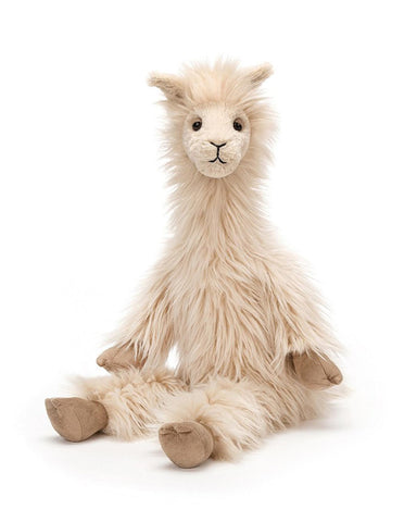 Little jellycat play luis llama