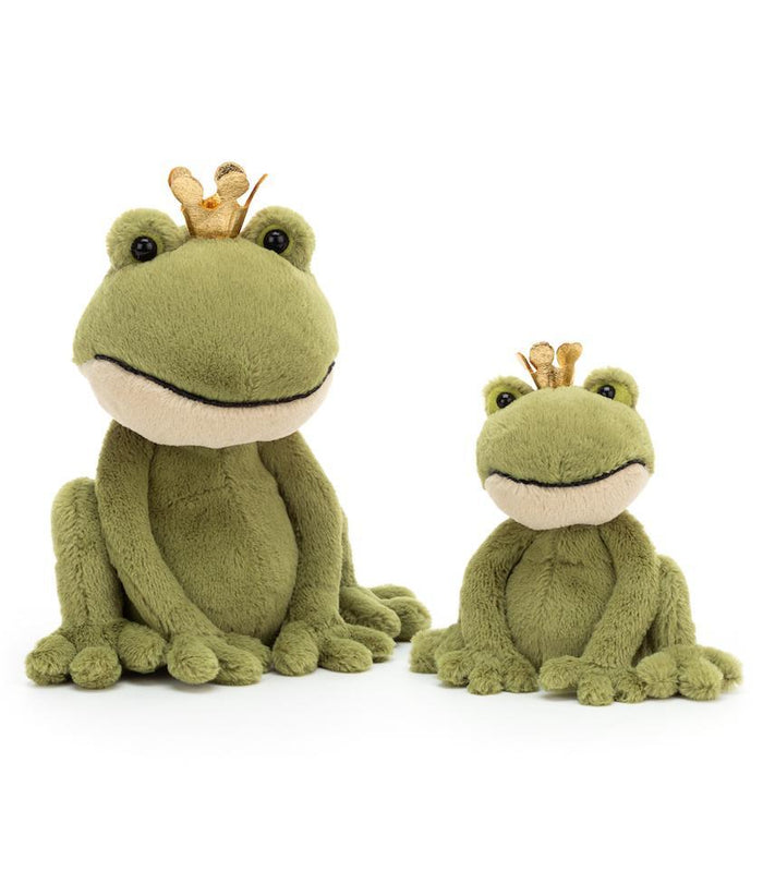 Little jellycat play medium felipe frog prince
