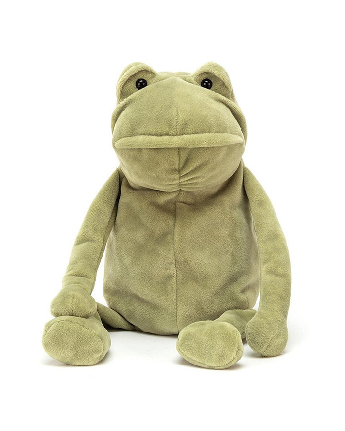 Little jellycat play medium fergus frog