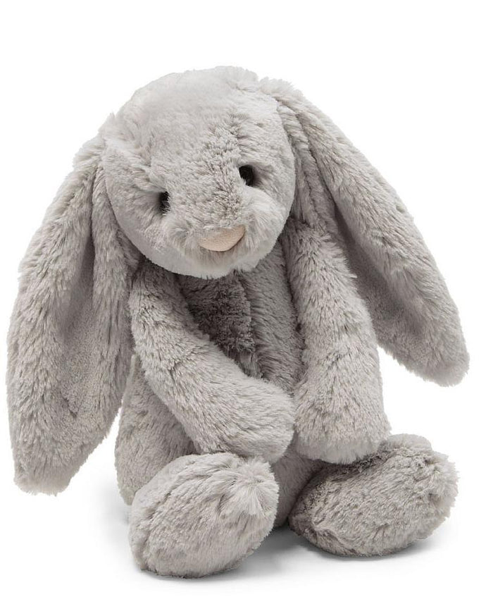 Little jellycat play medium grey bashful bunny