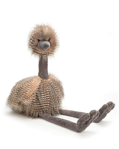 Little jellycat play medium odette ostrich