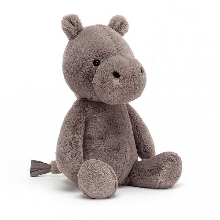 Little jellycat play nimbus hippo