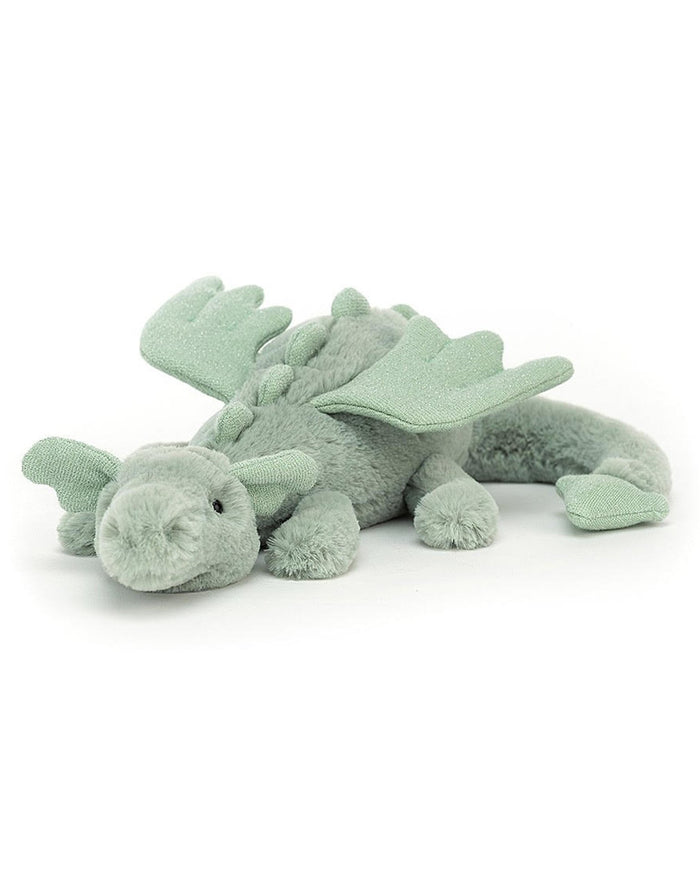 Little jellycat play sage dragon little