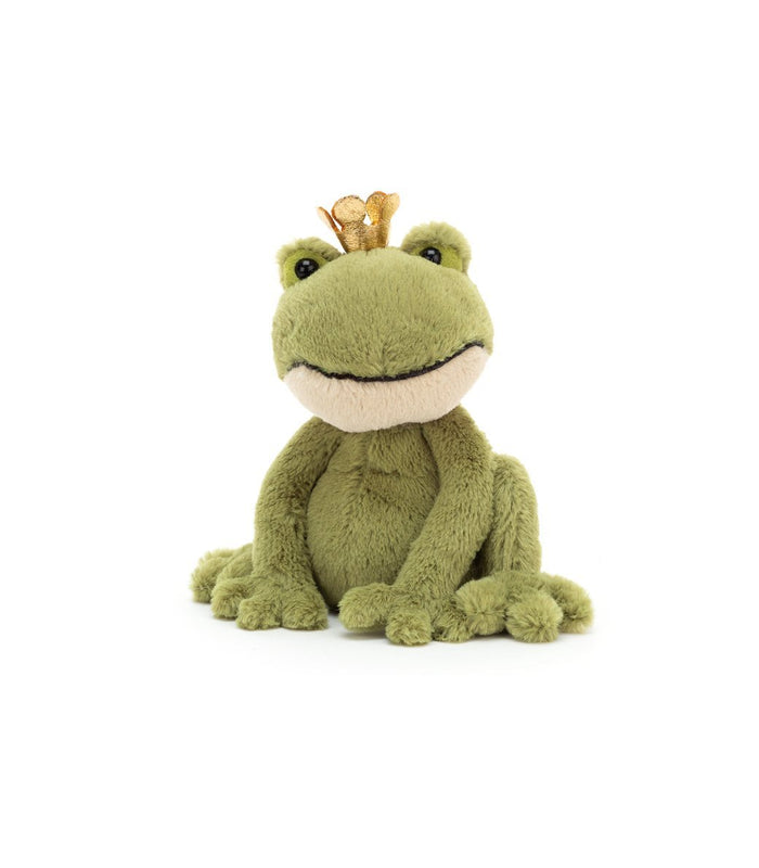Little jellycat play small felipe frog prince