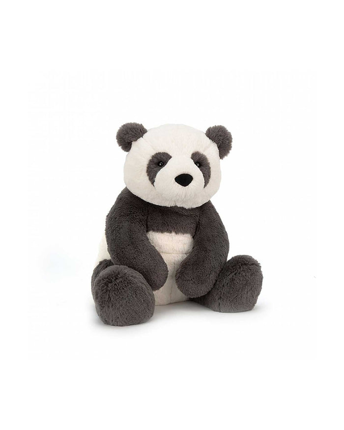 Little jellycat play small harry panda cub